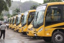 Os coletivos recebidos são provenientes de emendas parlamentares dos deputados estaduais João Peixoto