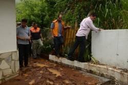 De acordo com a Defesa Civil do município o volume de água da chuva de quarta-feira foi o maior registrado