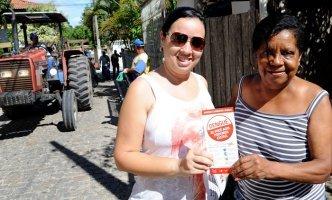Mutirão contra a dengue em Quissamã - Foto: Adilson dos Santos