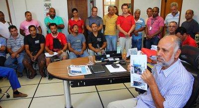 Sabino se reuniu com proprietários de oficinas mecânicas para discutir atividades