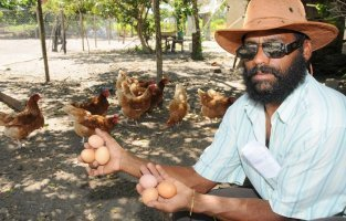 Jaci Souza Andrade, avicultor, pretende investir também em hortaliças - Foto: Adilson dos Santos