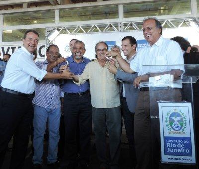 As vans chegam ao município totalmente regularizadas e com os termos de doação