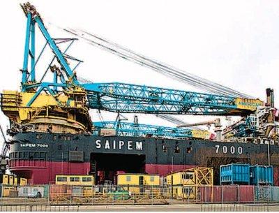 Empresa italiana Saipem do Brasil já investiu US$ 500 milhões n o projeto brasileiro, sediado no Guarujá (SP) e anunciou que va i continuar investindo na Baixada Santista