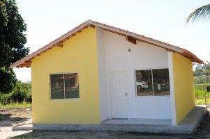 Unidade habitacional entregue a uma das famílias cadastradas - foto: Adilson dos Santos
