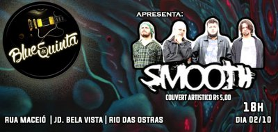 Blues de quinta apresenta SMOOTH