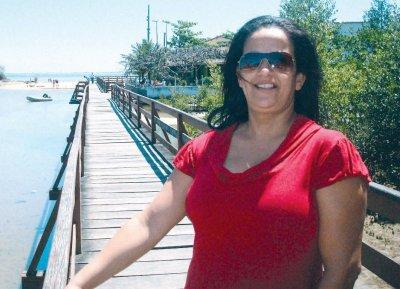 Fátima Coutinho, disse que sempre passa o verão em Rio das Ostras