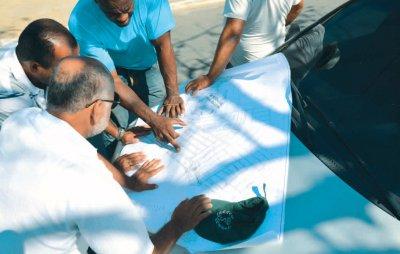 Em visita ao local, prefeito Sabino, disse que ações correspondem à primeira fase das obras