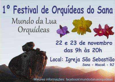 1� Festival de Orqu�deas do Sana