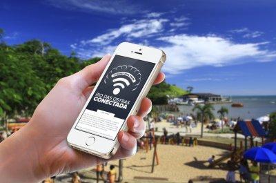 """O projeto """"Rio das Ostras Conectada"""" prevê a instalação de mais 11 pontos de acesso WI-FI gratuitos"""