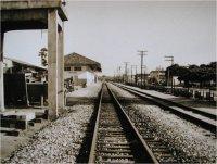 ELA - A Ferrovia. Pátio e Estação Ferroviária de Macaé/1978.
