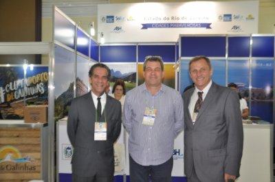 Marco Barreto Simas, Oscar Pires Jr. e Nauro Grehs