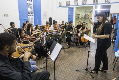 A série Ensaios Abertos da Emart foi pensada pela equipe da Fundação Macaé de Cultura para aproximar os músicos de Macaé