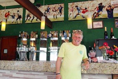O jogador é um dos selecionados para conduzir a Tocha Olímpica em Macaé, no próximo dia 31