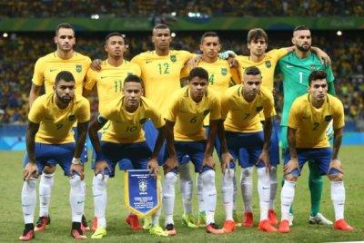 Neymar fez o gol na quinta cobrança de penalty. Depois o goleiro Veverton defenderia a bola que deu a medalha de ouro para a seleção brasileira.Fernando Frazão/Agência Brasil