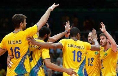 O Brasil venceu hoje, por 3 sets a 0, a Itália e conquistou a terceira medalha de ouro olímpica no vôlei de quadra masculino.