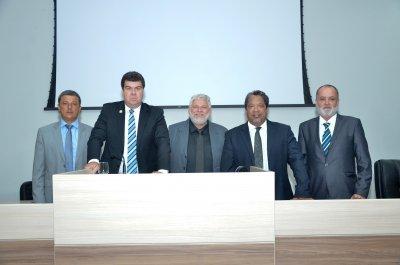 Com 15 votos, o vereador Eduardo Cardoso (PPS) foi reeleito presidente da Câmara