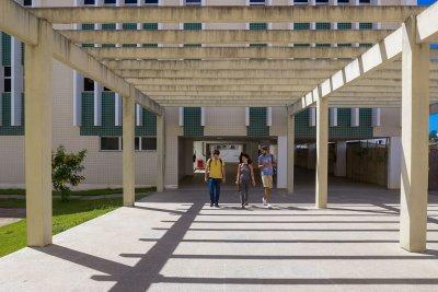 A UFF-Macaé funciona na Cidade Universitária