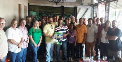 Empresários associados ao Macaé Convention reuniram-se para debater as melhores ações para receber o Mundial de Frescobol
