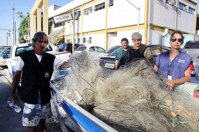 A operação foi realizada pela Secretaria de Ambiente e Sustentabilidade de Macaé