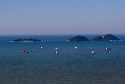 O projeto do porto prevê uma plataforma marítima com cerca de 90 mil metros quadrados