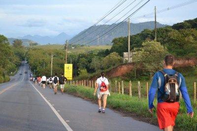 O trajeto totaliza 36 km, com saída da Igreja Matriz de Santo Antônio