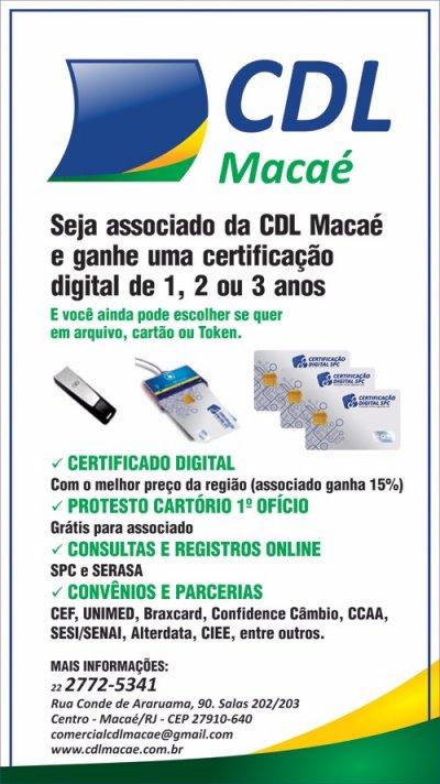 CDL de Macaé oferece vantagens a novos associados
