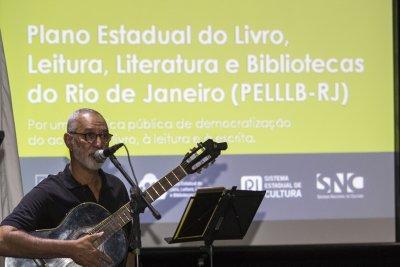 A abertura do evento contou com a participação do músico, compositor e intérprete, Jorge Benzê