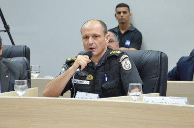 O comandante do 32º Batalhão de Polícia Militar (BPM), coronel Marco Aurélio Vollmer