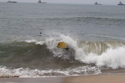 Master Bodyboarding será realizada neste sábado (30), na praia do Parque Restinga do Barreto, de 7h às 12h.