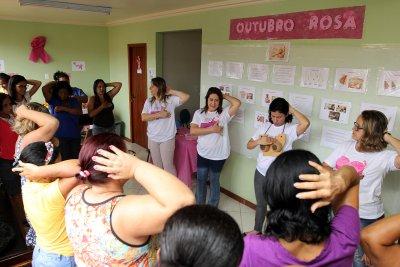 A programação teve início nesta terça-feira (3), no Núcleo de Atendimento à Mulher e a Criança (Nuamc)