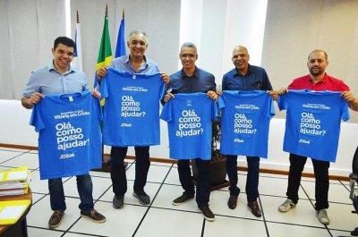 O prefeito e os representantes da Assembleia de Deus Vitória em Cristo estão otimistas com o Projeto