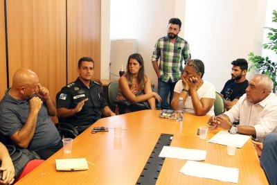 Para acertar os detalhes da programação aconteceu, na tarde de quarta-feira (24), reunião convocada pelo Secretário de Turismo, Leonardo Anderson