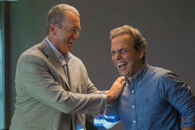 O prefeito Dr. Aluizio apresentou a infraestrutura e o potencial econômico do município