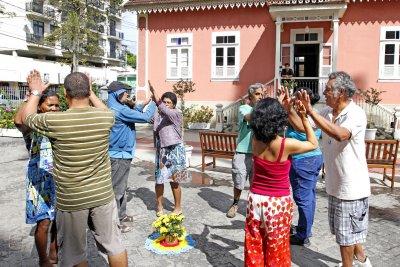 A programação inclui às 9 horas, nesta terça-feira (15), intervenções urbanas na Praça Veríssimo de Mello