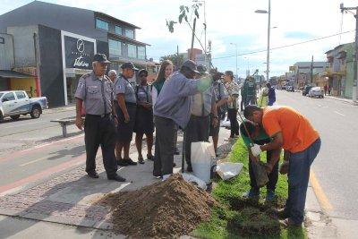A programação da Semana do Meio Ambiente continua com o plantio de 360 mudas de espécies nativas na avenida Evaldo Costa