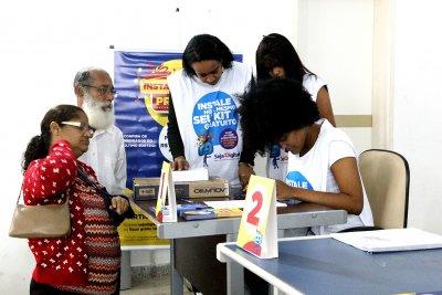 O município já recebeu cerca de 17 mil kits