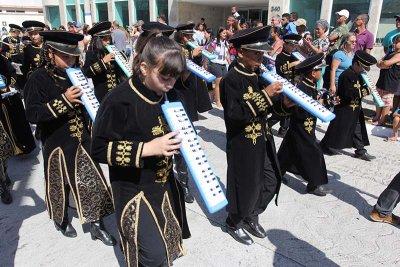 Haverá a participação da Banda Marcial Veteranos de Macaé e das convidadas de Quissamã e Carapebus