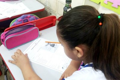 O foco é trabalhar o desenvolvimento dos estudantes das turmas de primeiro e segundo anos de escolaridade