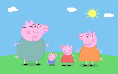 As animadas aventuras da Família Pig vão ser apresentadas somente no domingo (21)