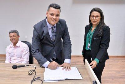 Novato no Legislativo, suplente do Pros foi convocado para o lugar de Welberth Rezende, eleito deputado estadual.