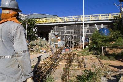 Com as obras, a capacidade do viaduto passará de  24 para 45 toneladas