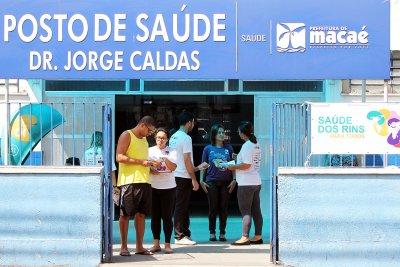 A ação contou com o apoio da Sociedade Brasileira de Nefrologia
