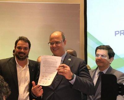 Guilherme Braga de Abreu, presidente da instituição macaense, representou a cidade no encontro