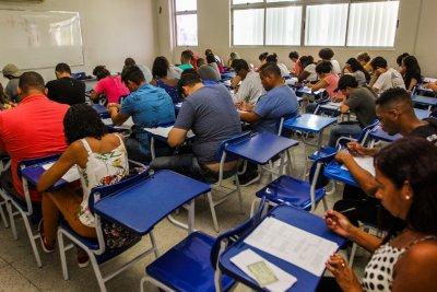 A prova foi elaborada pela Faculdade Miguel Ângelo da Silva Santos (FeMASS)