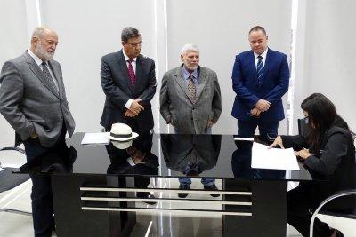 Posse dos suplentes Luciano Diniz e Marcio Barcelos, além da sessão ordinária
