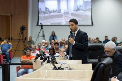 Marcel Silvano disse sentir vergonha do resultado da votação