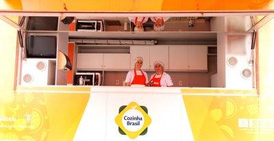 O Cozinha Brasil é uma iniciativa do SESI e visa incentivar a melhoria da qualidade de vida a partir da alimentação saudável