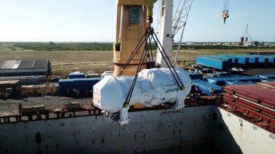 Os equipamentos, que chegaram ao Brasil nos últimos meses, contribuirão para o aumento da eficiência energética do parque termelétrico