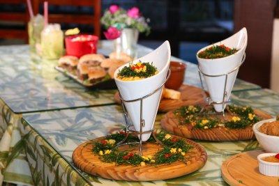Além das apresentações musicais, o evento vai contar com barraquinhas com comidas típicas elaboradas por chefs do Núcle