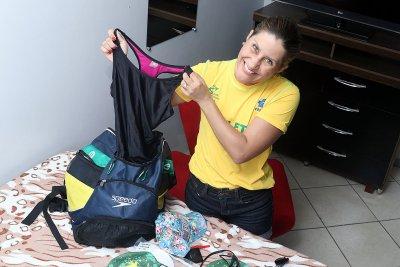 Em sua primeira experiência em competição, vai participar em quatro modalidades